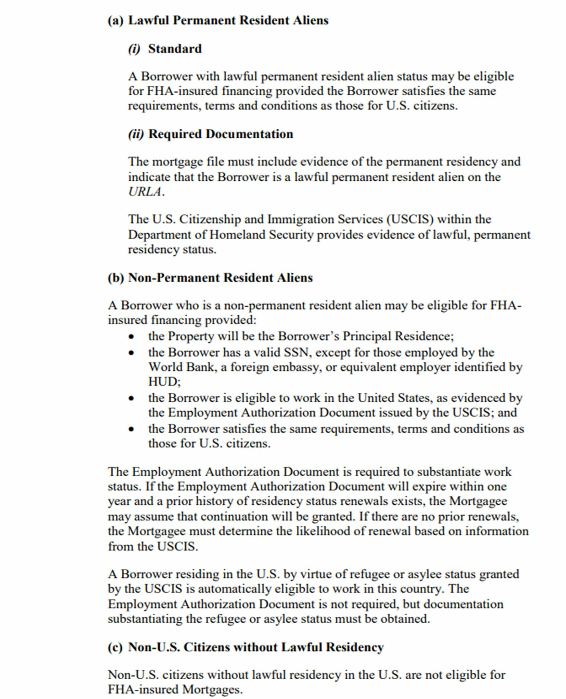 hud manual on resident aliens