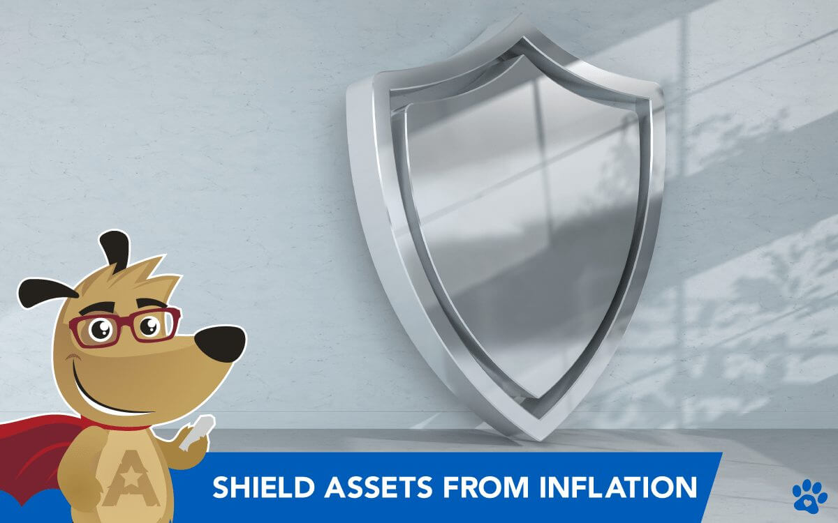 ARLO teaching you how to protect assets from inflation