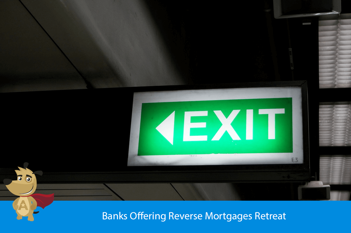 Banks Offering Reverse Mortgages Retreat