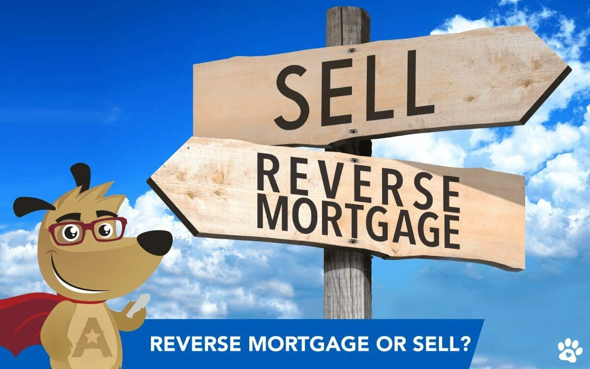 ARLO explaining the advantages of selling home or taking a reverse mortgage