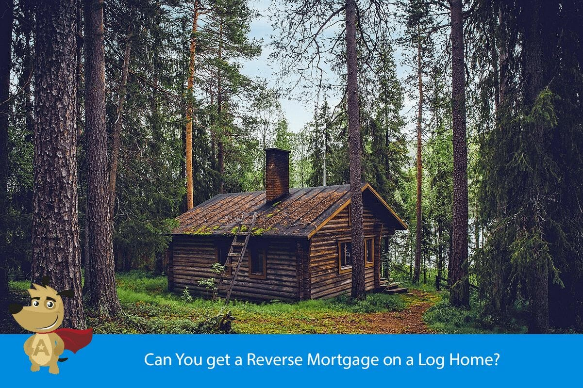 Can You get a Reverse Mortgage on a Log Home?