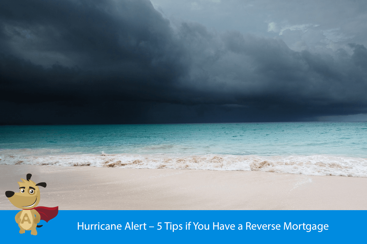 Hurricane Alert – 5 Tips if You Have a Reverse Mortgage
