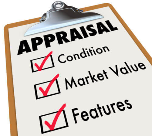 Appraisal Checklist Clipboard Factors Conditions Requirements