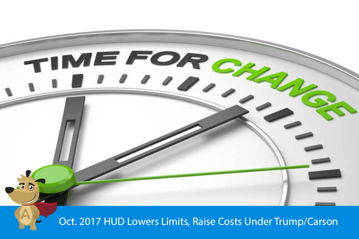 Oct. 2017 HUD Lowers Limits, Raise Costs Under Trump/Carson