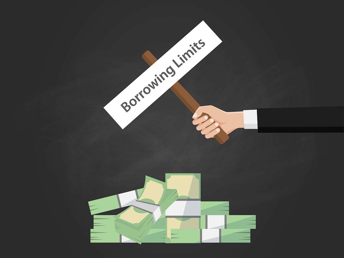 lending limits sign