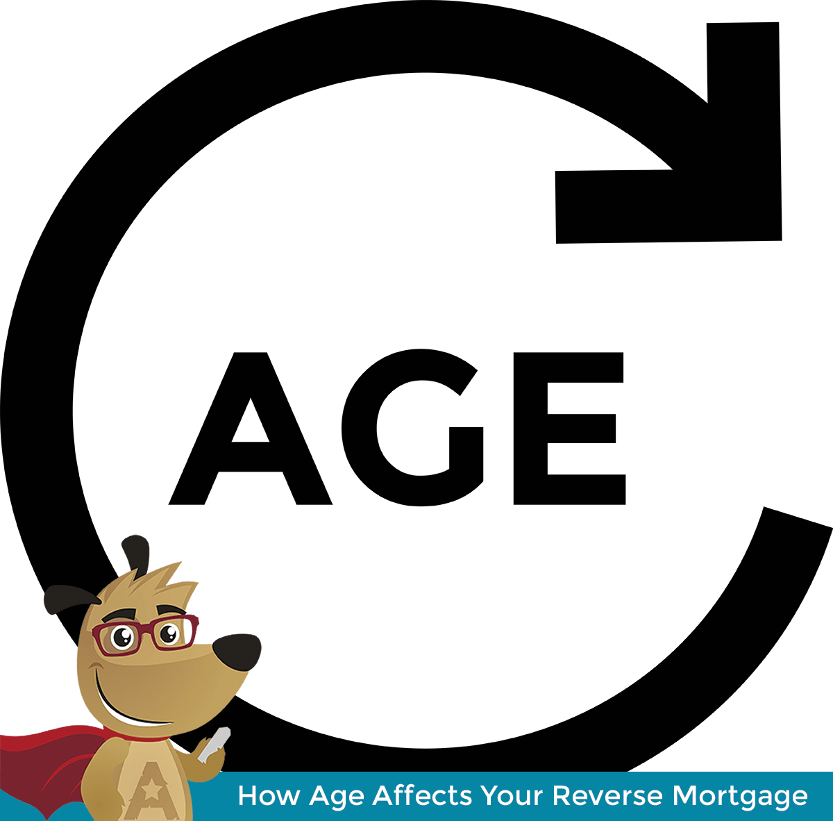ARLO explaining how age affects reverse mortgages