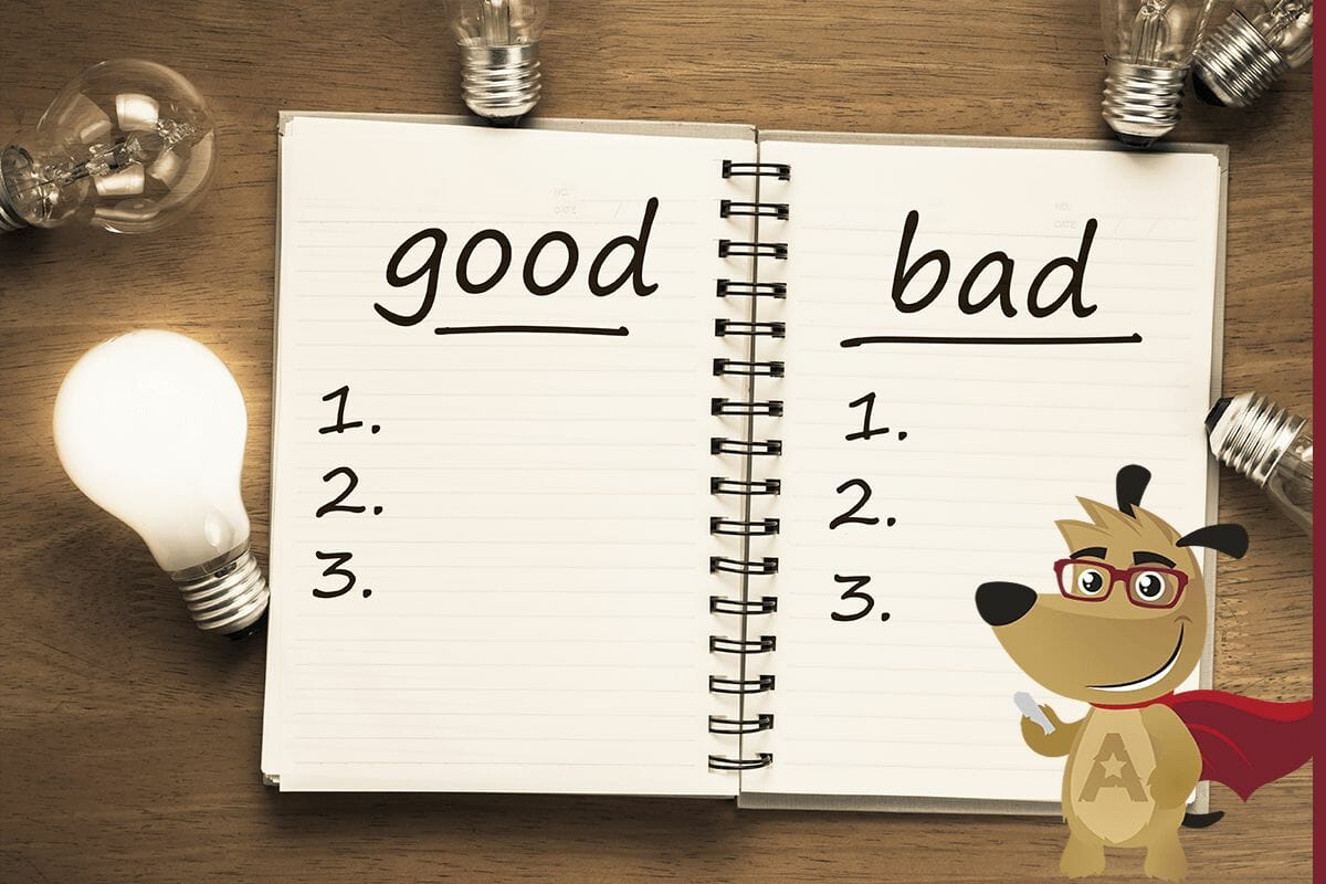 ARLO teaching good vs bad