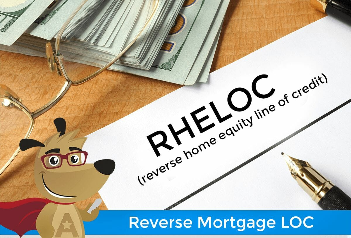 ARLO explains reverse mortgage line of credit feature
