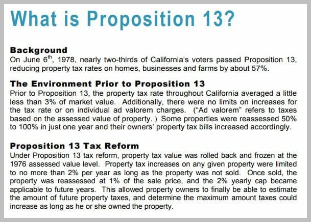 what is prop 13