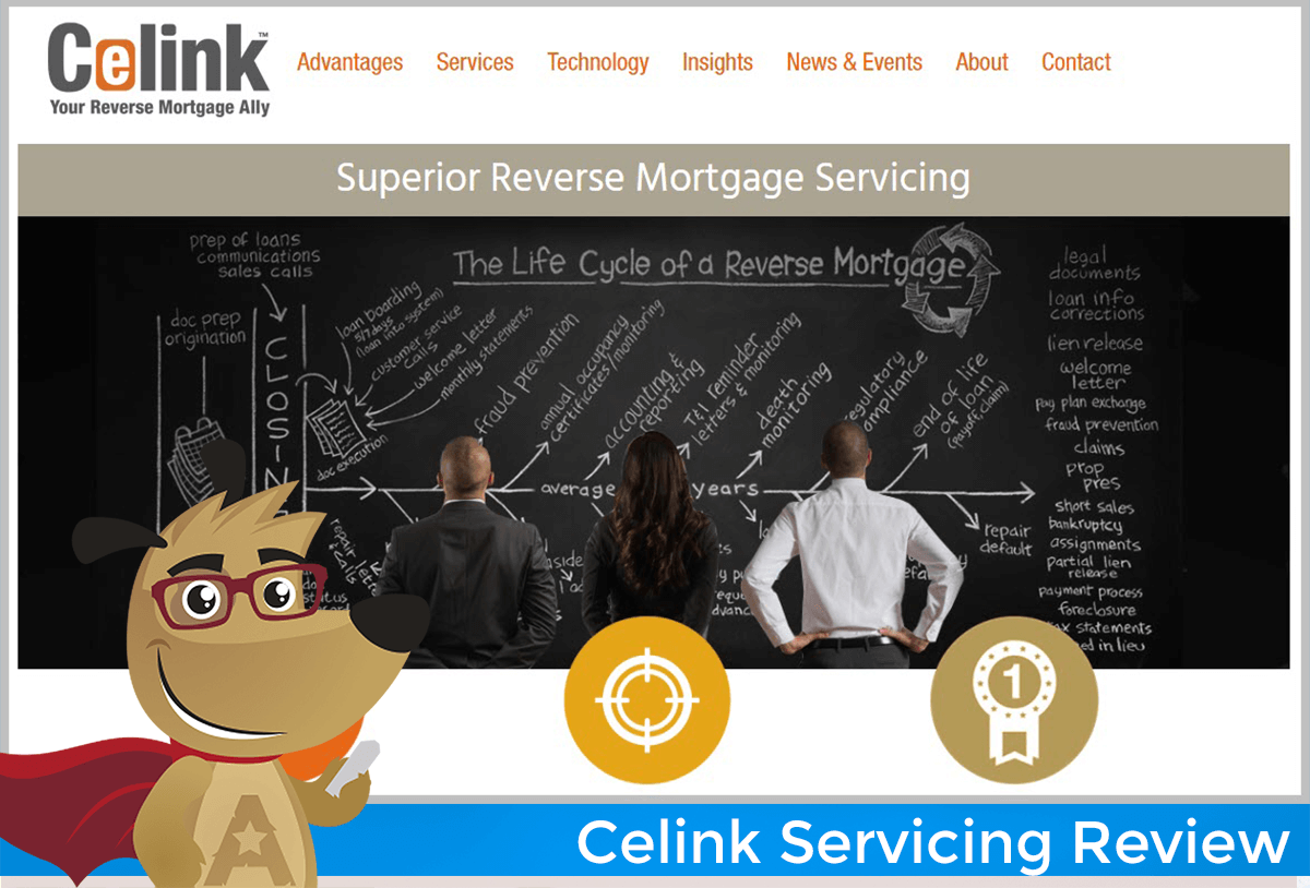 celink reverse mortgage servicing review