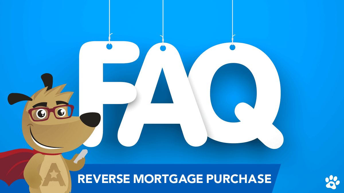 ARLO presenting reverse mortgage purchase FAQ