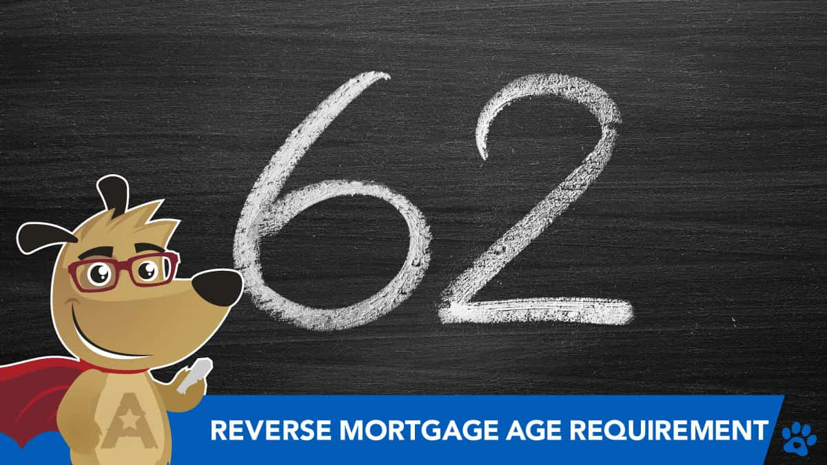 ARLO teaching the minimum age requirements for a reverse mortgage