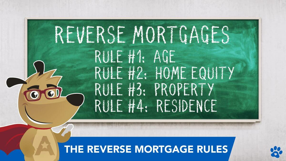 ARLO teaching the 4 Rules for Getting a Reverse Mortgage