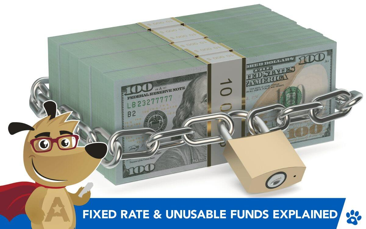 Reverse Mortgage Fixed Rate & Unusable Funds Explained