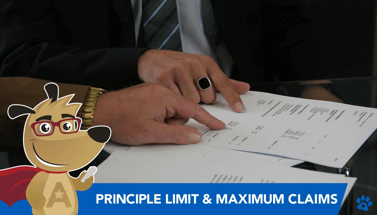 ARLO explaining reverse mortgage principle limit and maximum claims