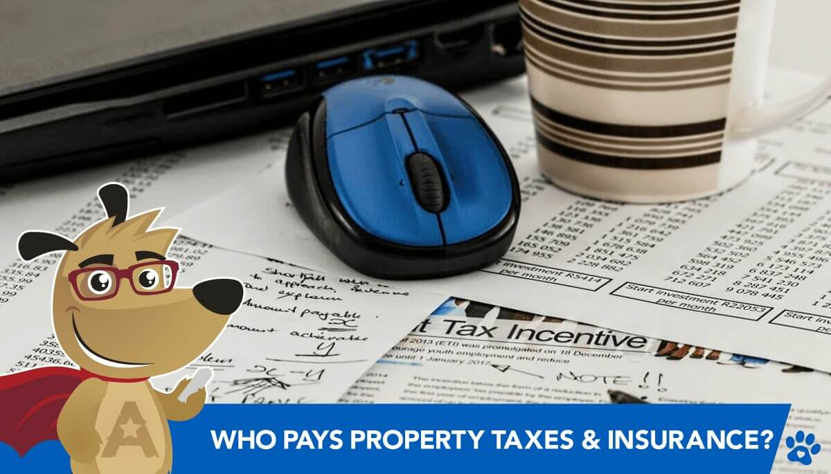 Who pays property taxes and insurance on a reverse mortgage?