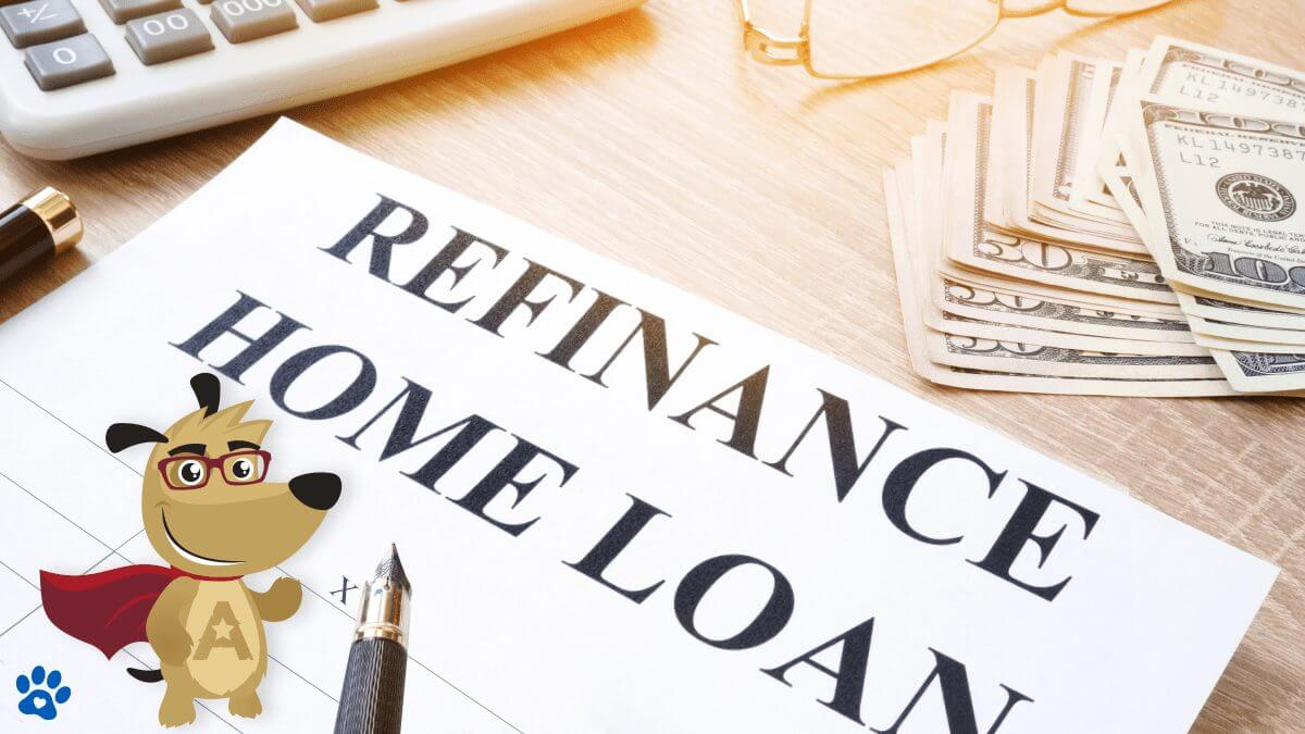ARLO explaining how a reverse mortgage refinance works