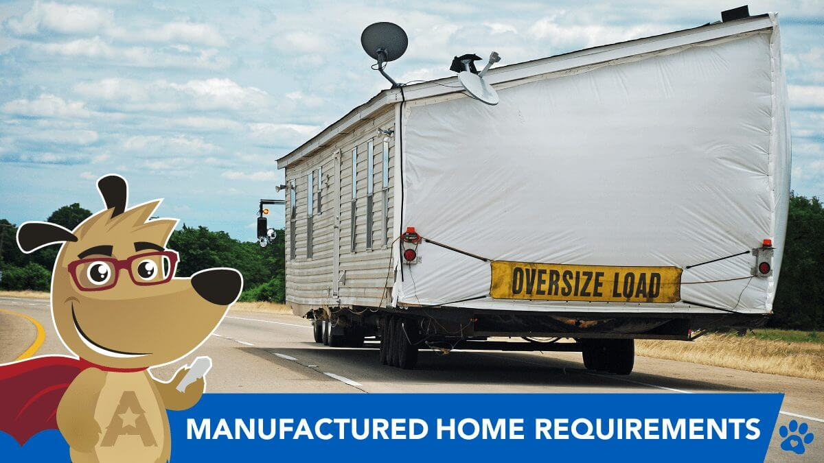 manufactured home delivery