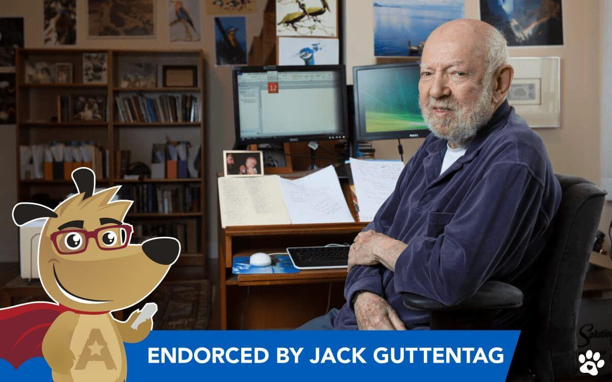 Jack Guttentag at home office